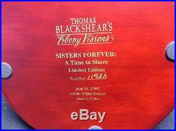Thomas Blackshear Ebony Visions SISTERS FOREVER A Time to Share
