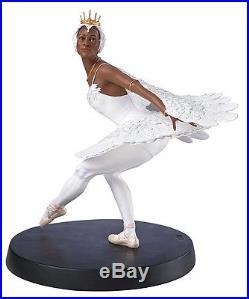 Thomas Blackshear Ebony Visions SWAN LAKE Figurine Ltd Edt COA #827171 NEW