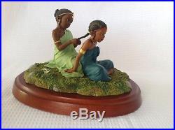 Thomas Blackshear Ebony Visions Sisters Forever In Childhood