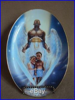 Thomas Blackshear Ebony Visions THE GUARDIAN Plate