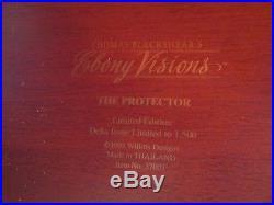 Thomas Blackshear Ebony Visions THE PROTECTOR RARE BEAUTIFUL! 1995 Delta Issue