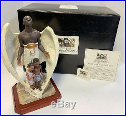 Thomas Blackshear Ebony Visions The Guardian 37009 LE COA Box