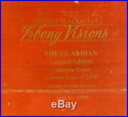 Thomas Blackshear Ebony Visions The Guardian Gamma Size Edition 14 Tall