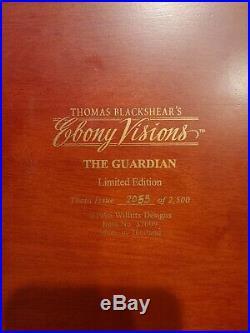 Thomas Blackshear Ebony Visions The Guardian Limited Edition