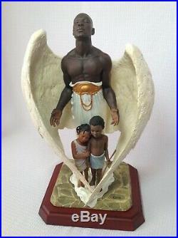 Thomas Blackshear Ebony Visions The Guardian (large Size) With Box