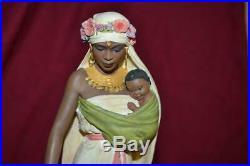Thomas Blackshear Ebony Visions The Madonna Figurine Original Box Issue Rare Lot