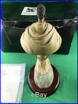 Thomas Blackshear Ebony Visions The Music Maker Box Rare Figurine