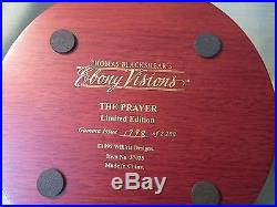 Thomas Blackshear Ebony Visions The Prayer Figurine