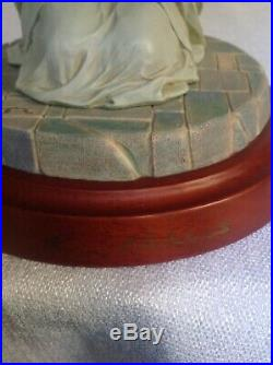 Thomas Blackshear Ebony Visions The Prayer! Signed! With Box And Coa