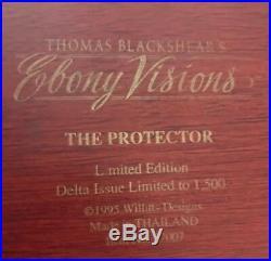 Thomas Blackshear Ebony Visions The Protector Signed