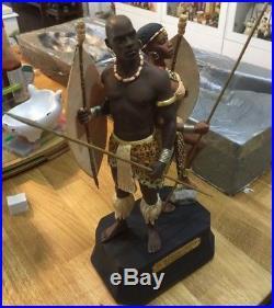 Thomas Blackshear Ebony Visions The Protector's of Freedom Sculpture