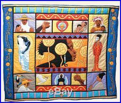 Thomas Blackshear Ebony Visions The Threads That Bind Quilt