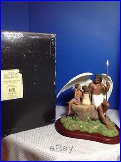Thomas Blackshear Ebony Visions Under The Shelter Of His Wing With Box