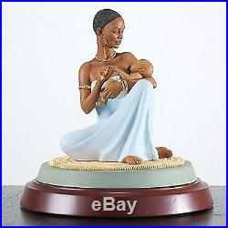Thomas Blackshear The Blessing Figurine Mother Baby Ebony Visions 1st Issue NEW