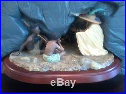 Thomas Blackshear's 1995 Figurine The Story Teller (Signed)