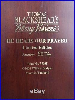 Thomas Blackshear's 2001 Figurine- He Hears Our Prayers