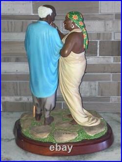Thomas Blackshear's DEVOTED LOVE Figurine #37081 EBONY VISIONS LIMITED EDITION