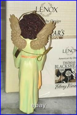 Thomas Blackshear's EBONY VISIONS LOVING LAMB 2010 Annual Ornament New