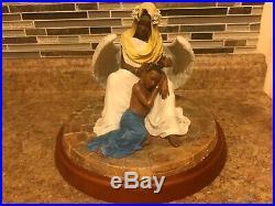 Thomas Blackshear's EBONY VISIONS Serenity Figurine Sculpture # 37095
