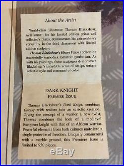 Thomas Blackshear's Ebony Visions Dark Knight Premier Issue