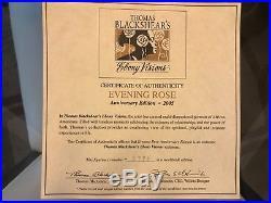 Thomas Blackshear's Ebony Visions Evening Rose Figurine Anniversary Edition