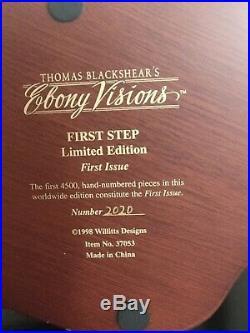 Thomas Blackshear's Ebony Visions First Step Ltd Edition
