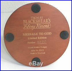 Thomas Blackshear's Ebony Visions Message to God #37072 Limited Edition