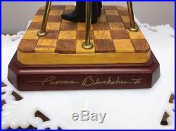 Thomas Blackshear's Ebony Visions SIGNED Barack Obama Figurine NIB