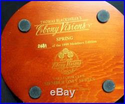 Thomas Blackshear's Ebony Visions Spring 37040 Members Edition 1999 Figurine DBP