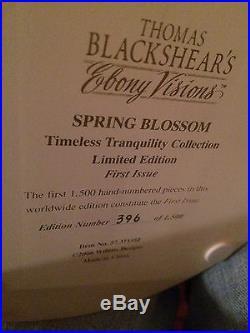 Thomas Blackshear's Ebony Visions Spring Blossom Figurine NIB