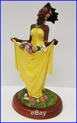 Thomas Blackshear's Ebony Visions Spring Collector Club Member Series Figure