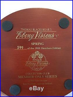 Thomas Blackshear's Ebony Visions Spring (Member Only Series, Signed)