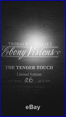 Thomas Blackshear's Ebony Visions Tender Touch Limited Edition Figure