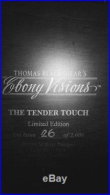 Thomas Blackshear's Ebony Visions Tender Touch Limited Edition Figure