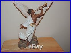 Thomas Blackshear's Ebony Visions The Angel Gabriel Figurine NIB
