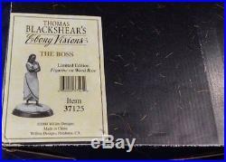 Thomas Blackshear's Ebony Visions The Boss Signed Limited Edition