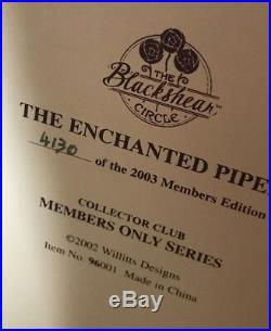 Thomas Blackshear's Ebony Visions The Enchanted Piper Figurine NIB