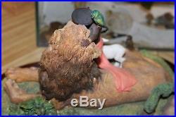 Thomas Blackshear's Member only A Child Shall lead them Ebony Visions sculpture