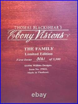Thomas Blackshear's THE FAMILY 37021 Figurine EBONY VISIONS LIMITED EDITION