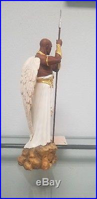 Thomas Blackshear's The Sentinel Figurine Ebony Visions Angel Limited Edition