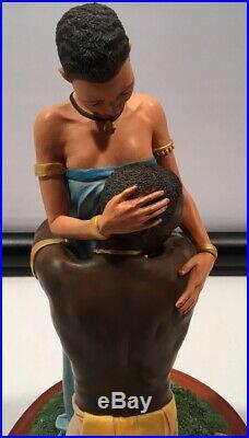 Thomas Blackshears Ebony Visions Cherished Limited Edition Number 10484 Statue