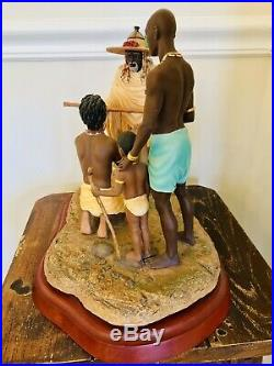 Thomas Blackshears Ebony Visions RITE OF PASSAGE Figurine Collectible Sculpture