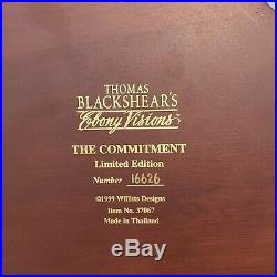 Thomas Blackshears Ebony Visions The Commitment Figurine Collectible Sculpture