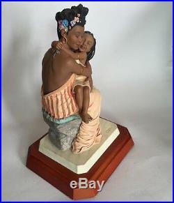Thomas Blackshears Ebony Visions The Nurturer Figurine Limited Edition