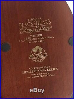 Thomas Blackshears, Ebony Visions Winter 2002 Members Only Series