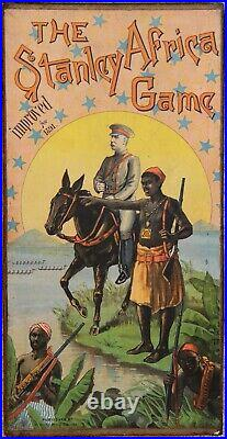 Ultra-Rare Stanley Africa Game c1891 Bliss