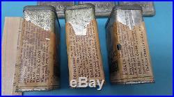 Very Rare Black Americana Spice Box Cabinet Cin'mon Cloves Pepper + Estate Find