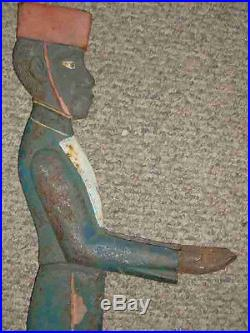 Vintage Bellman Card Holder-cast Iron- Rare
