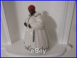 VINTAGE Black Americana McCoy Aunt Jemima Cookie Jar DEM COOKIES SHOR AM GOOD