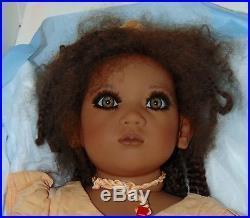 VINTAGE Black Doll 1998 KERI Boxed & COA ANNETTE HIMSTEDT